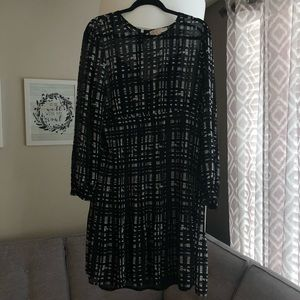 Michael Kors Black and White XL Dress